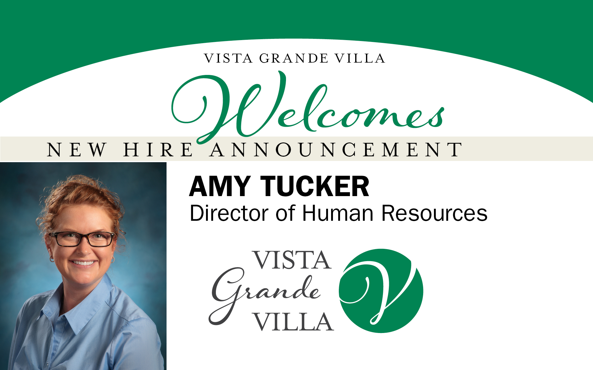 30584 VGV New Hire Announcement Facebook Amy Tucker 10 30 19