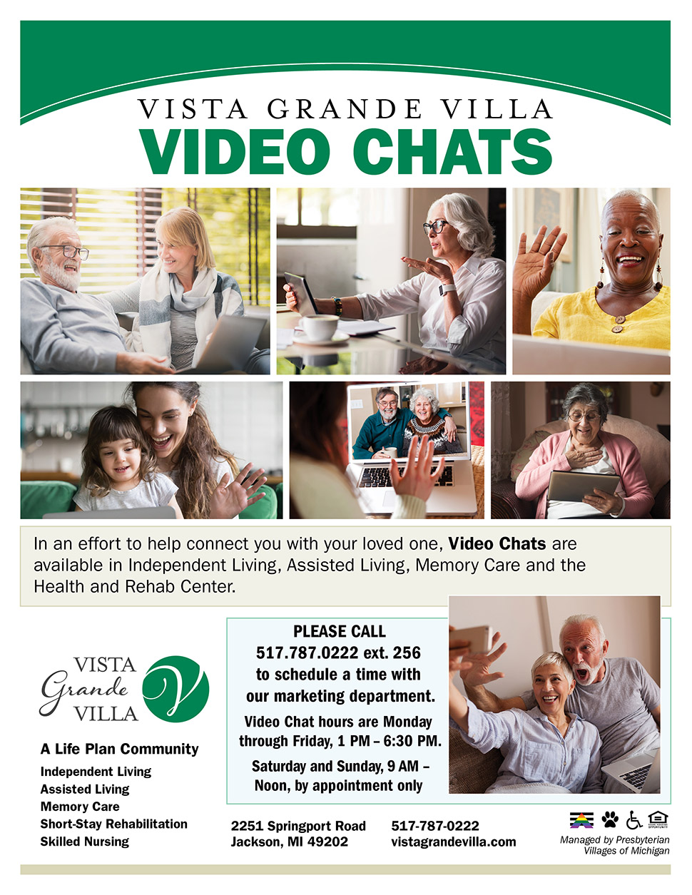 31124 VGV Video Chat Flyer 3 19 20